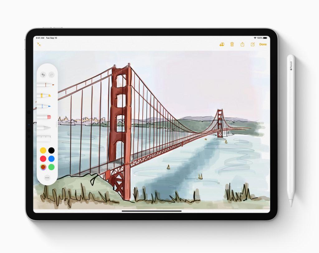 iPadOS — это новые возможности Apple Pencil.