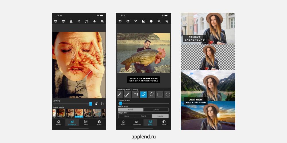 Приложение Superimpose