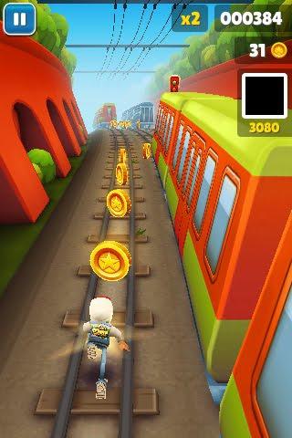 Subway Surfers: одна из лучших бесплатных игр на айфон